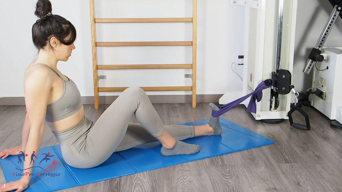 Potenziamento elastico del tibiale anteriore