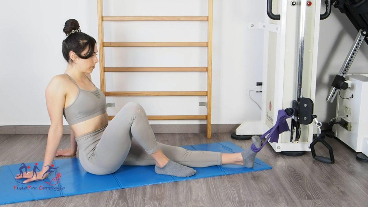 Potenziamento elastico del tibiale posteriore
