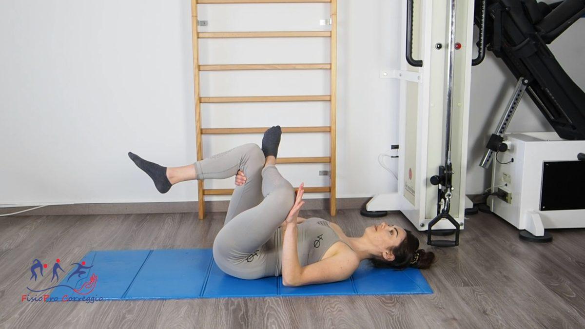 Stretching del piriforme